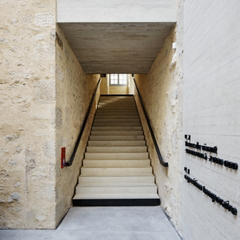 Escalier © Vincent Fillon