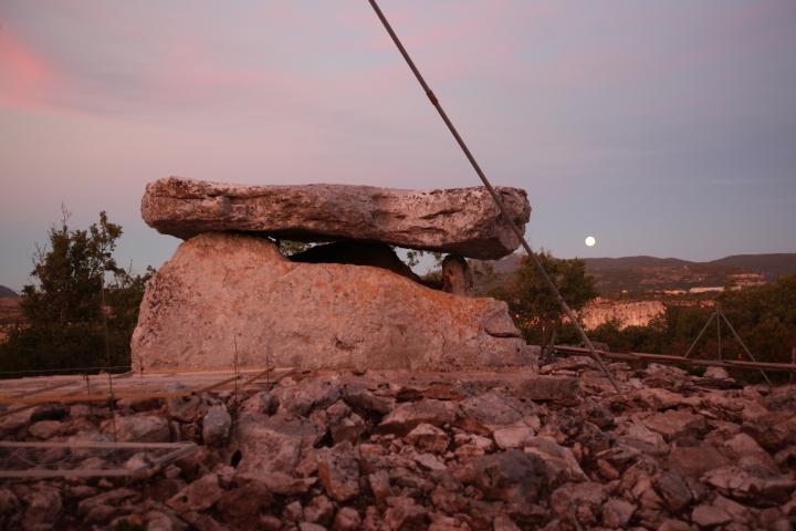 Dolmen de la Prunarède © Musée de Lodève