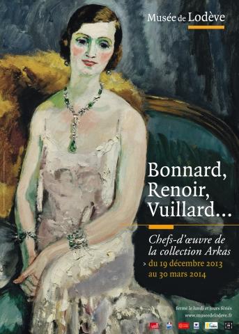 Affiche Bonnard, Renoir...