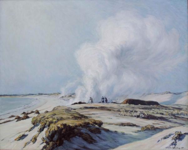 André Dauchez, Les Brûleurs de goémon, 1931  © DR