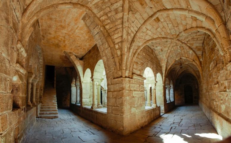 Cloître de Saint Michel de Grandmont © F Bec