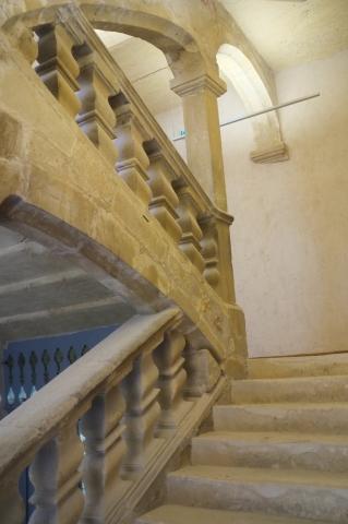 Escalier d'honneur © Musée de Lodève