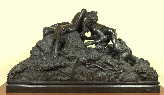 Dardé Paul, Faune, bronze
