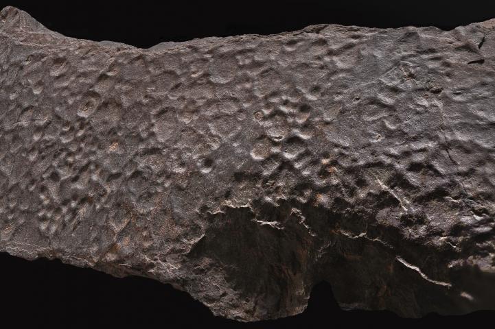 Gouttes de pluie fossile © Philippe Martin