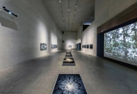 Une des dernières expositions d'Eric Bourret, au Xie Zilong Art Museum, Chine 2019