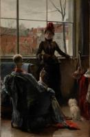Jean De la Hoese, Le mannequin, 1886