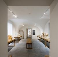 Salle des portraits du parcours Dardé